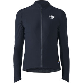 VOID Yoke LS Zip Men, black